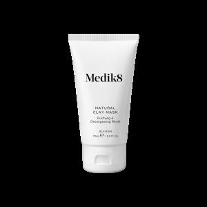 Успокояваща почистваща маска за лице с бяла глина Medik8 Natural Clay Mask